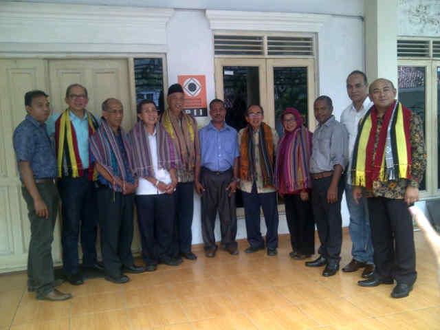 Pengurus PII dan BKTI dengan teman teman ANETL Timor Leste dlm rangka kunjungan dan kerja sam dgn PII indonesia